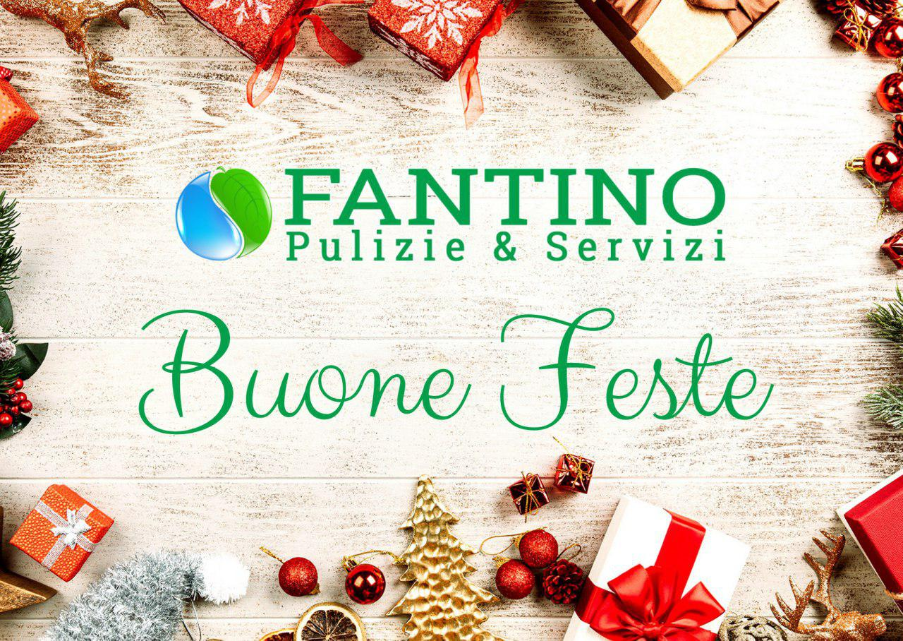 Buon Natale e un felice anno nuovo da Fantino Pulizie & Servizi Snc